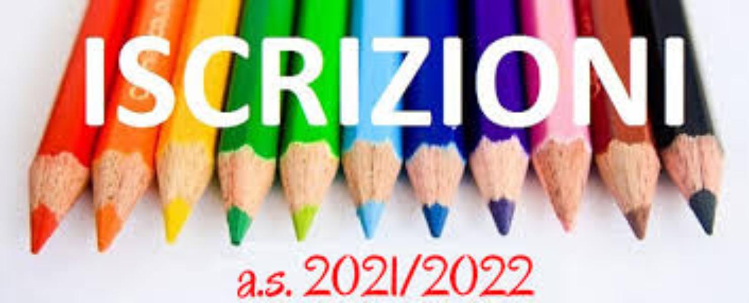 ISCRIZIONI CLASSI PRIME  a.s. 2021/2022
