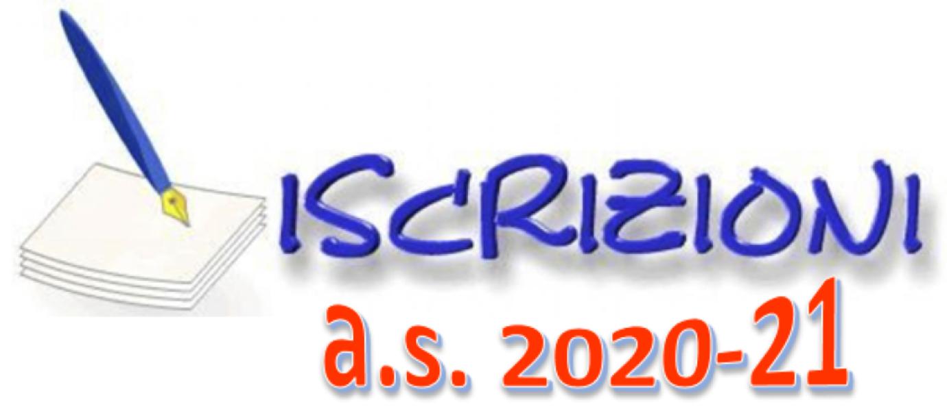 ISCRIZIONI CLASSI PRIME  a.s. 2020/2021