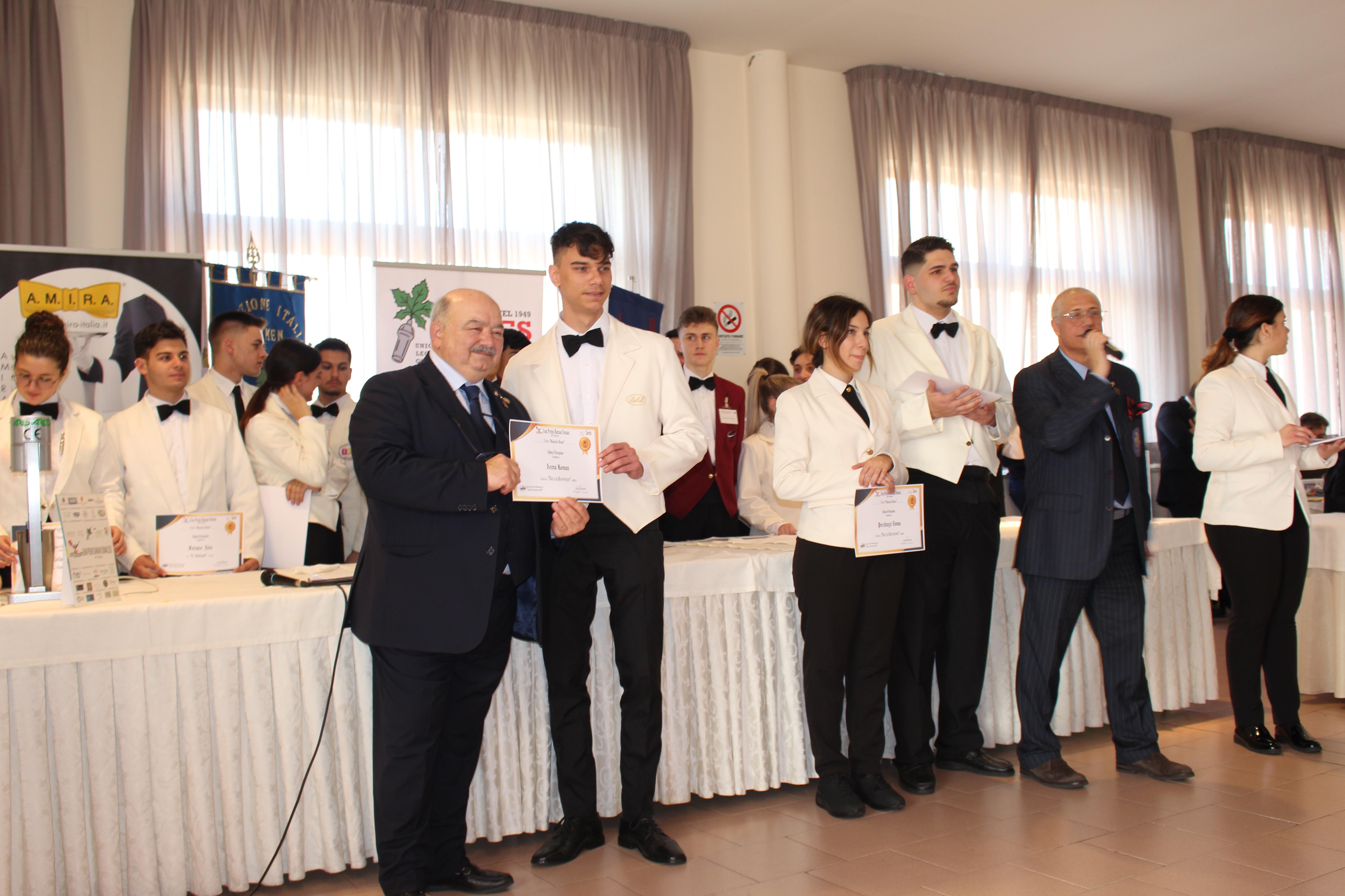 I concorrenti del concorso