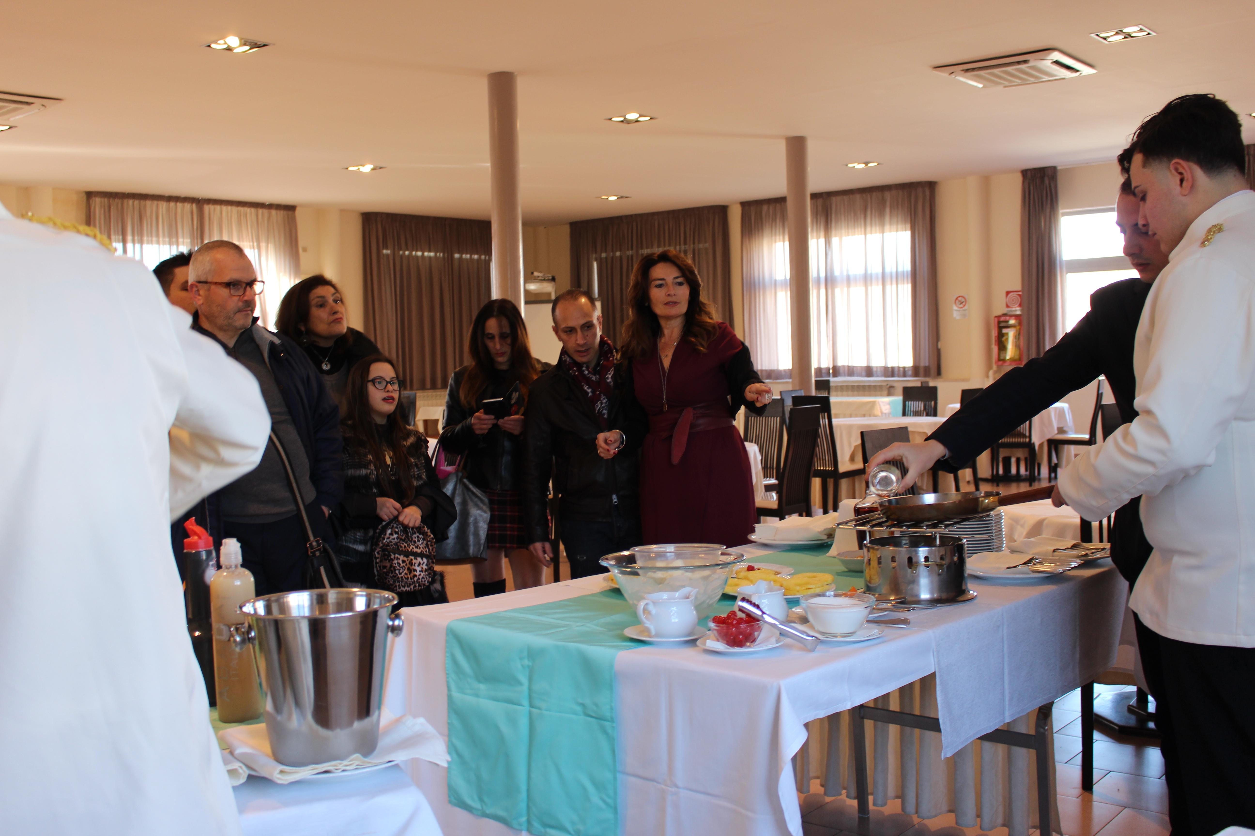 La DS riceve in Sala Vesuvio le famiglie in visita